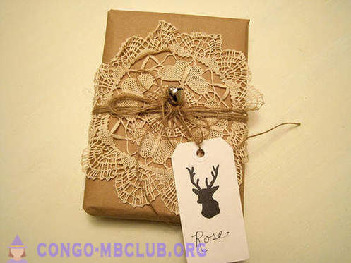 How beautiful and unusual Christmas gift pack